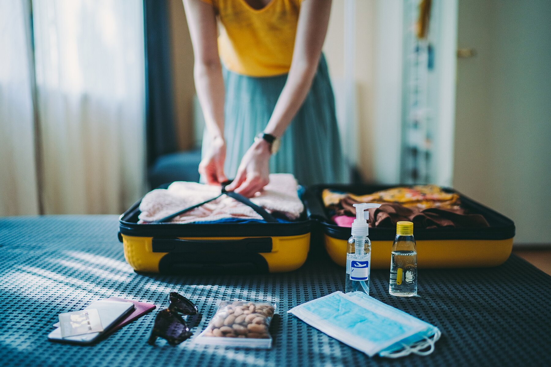 Pack While Traveling The World